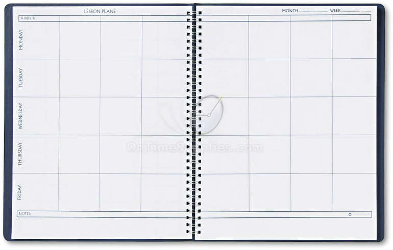 Weekly Teacher Planner by House of Doolittle.