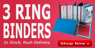 Shop all 3 Ring Binders at On Time Supplies.com