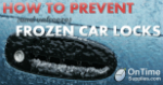How to Prevent Frozen Car Locks