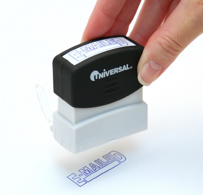 How to re-ink Universal Stamps, Step 4