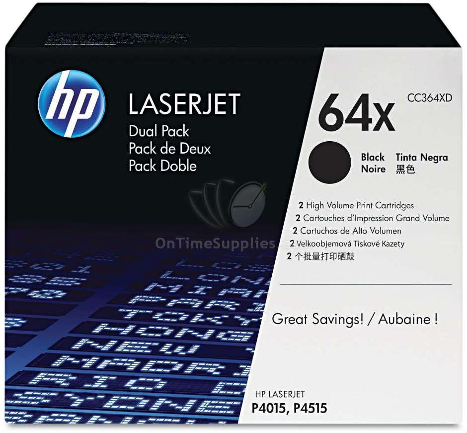 HP Toner CC364X, CC364XC, CC364XD