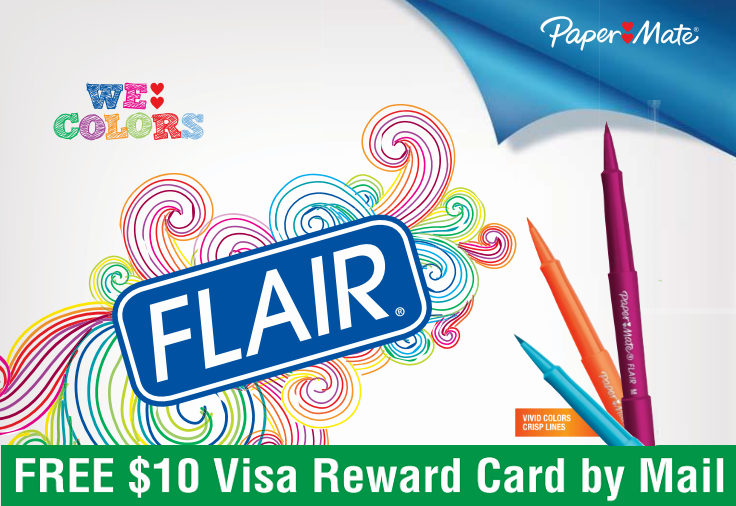 Shop Paper Mate Pens & Mechanical Pencils & Get a FREE Prepaid Visa Gift Card with Mail in Rebate.