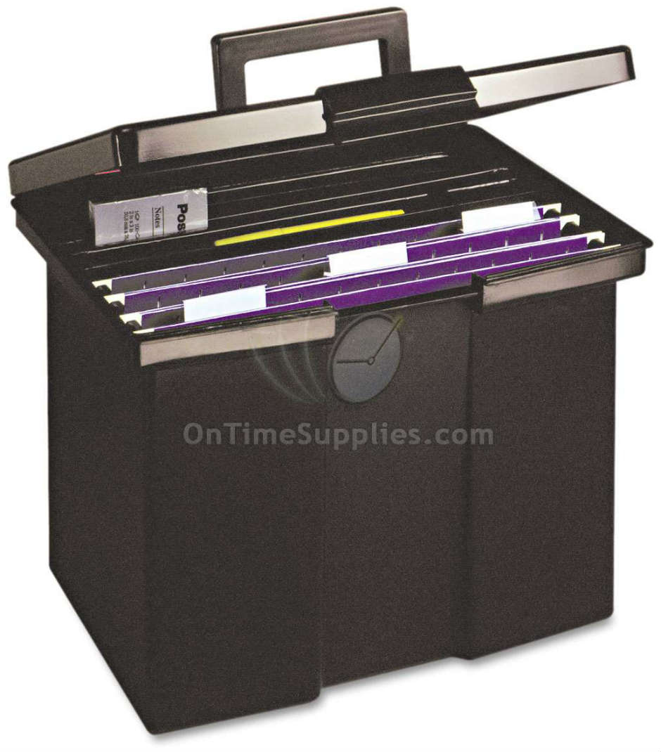 Pendaflex® Portable Letter Size File Box