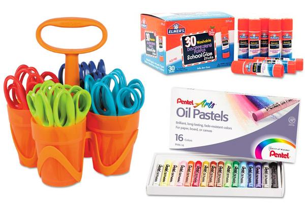 Art Supplies by Fiskars, Elmer's & Pentel!