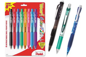 Dozens of Pentel Pens, Pencils and Refills!