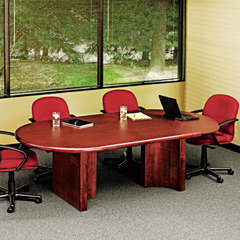 Racetrack Office Tables