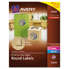Avery® Round Easy Peel® Labels