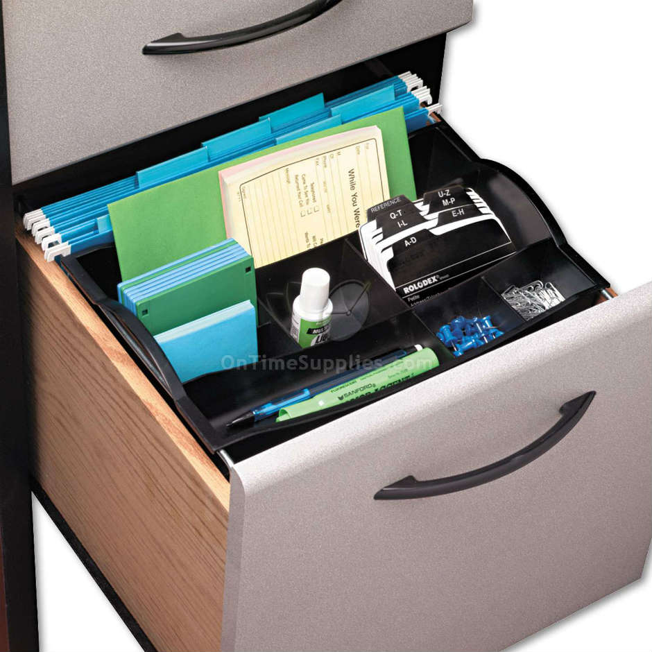 RUB11916ROS Hanging Desk Drawer Organizer by Rubbermaid