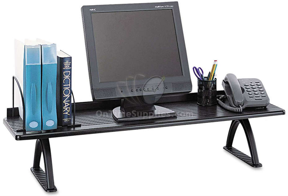 Sy Desktop Shelf By Safco Frees Up Desk Space