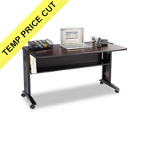 Safco® Computer Desk with Reversible Top