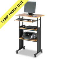 Safco® Adjustable Height Stand-Up Workstation