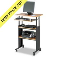 Safco® Adjustable Height Stand-Up Workstation