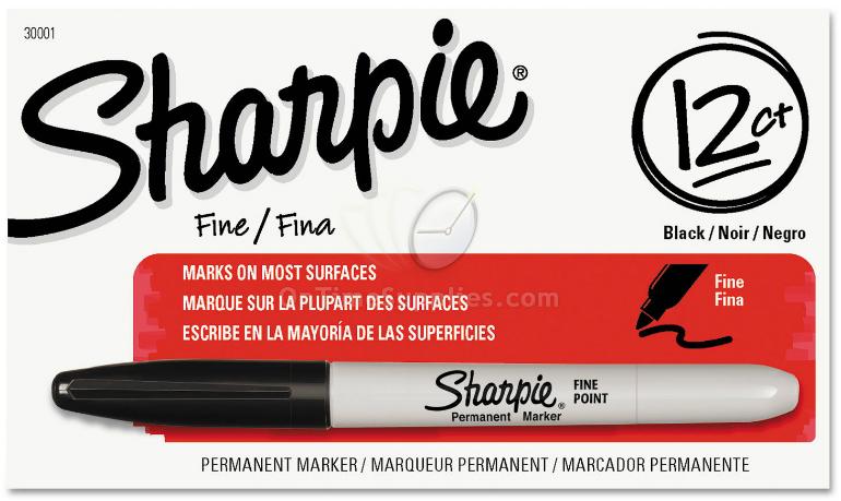 Fine Tip Permanent Marker Permanent Marker Fine Point
