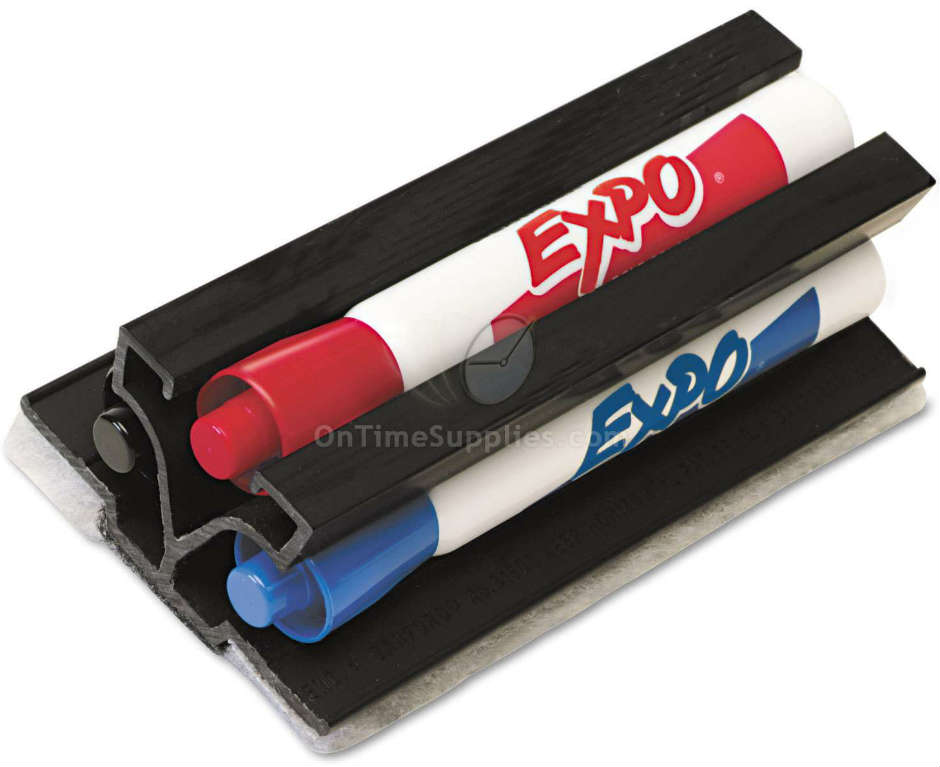 SAN81503 Dry Erase Marker Holder & Eraser by EXPO