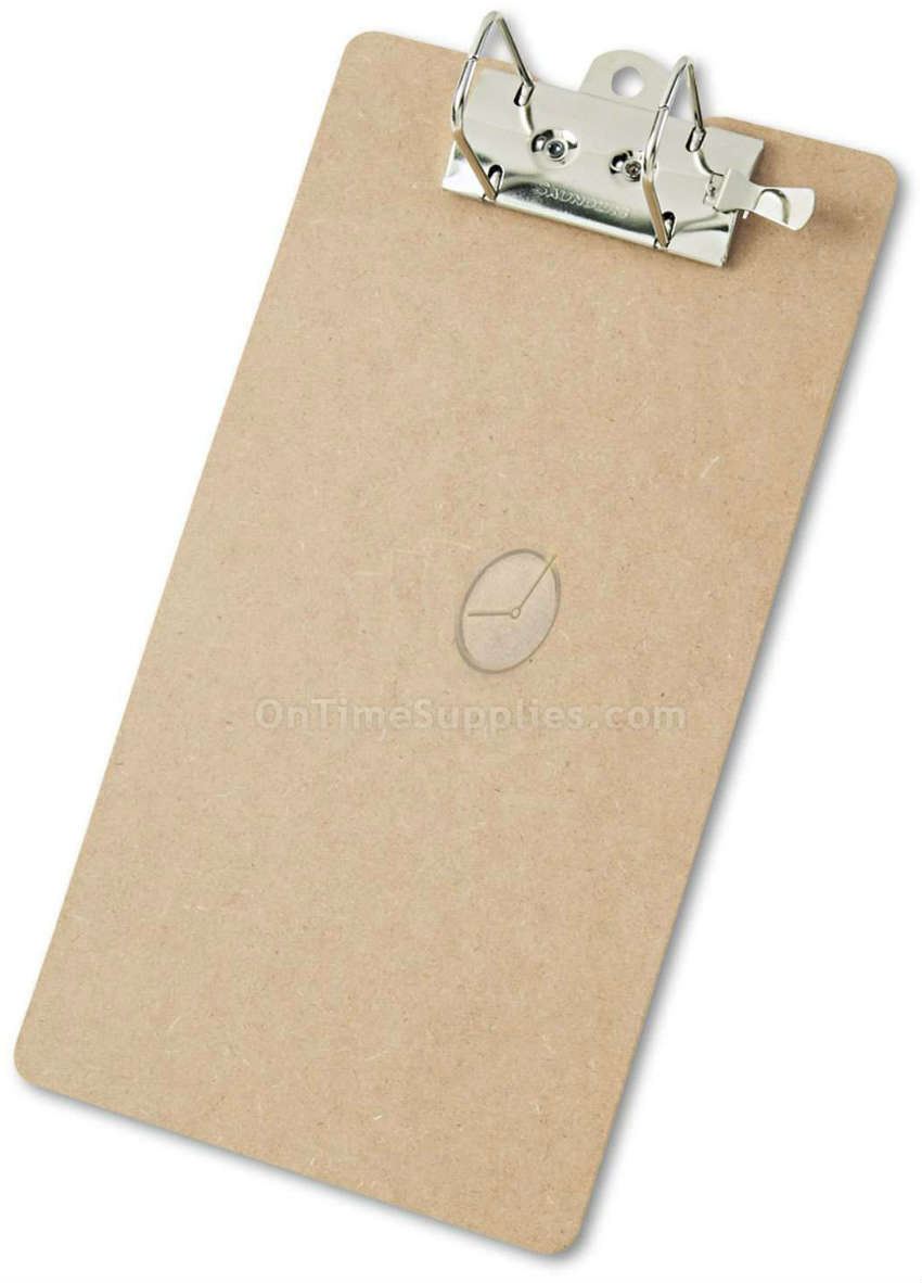 "Arch Clipboard, 2"" Capacity, Holds 8-1/2""w x 14""h, Brown"