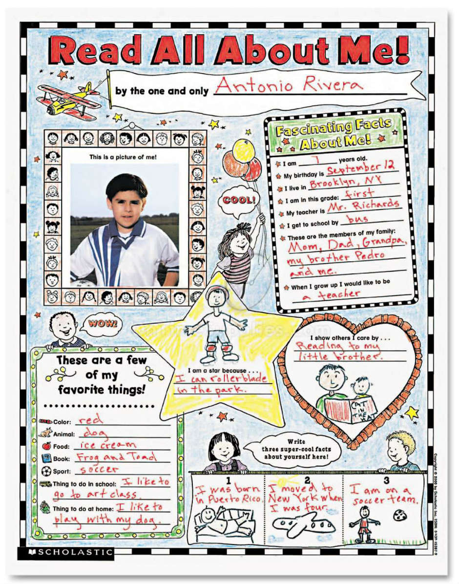 Instant Personal Poster Sets By Scholastic Shs0439152852