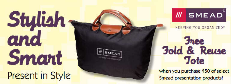 Smead Folders Mail in Rebate | Free Tote Bag