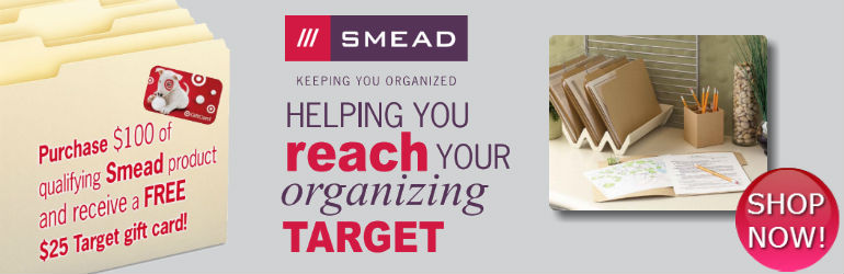 Free Target Gift Card w/ qualifying Smead Folders
