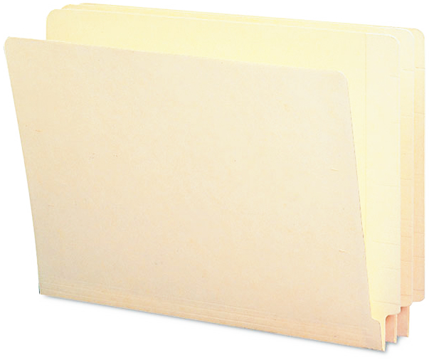 Smead® Heavyweight Manila End Tab Folders