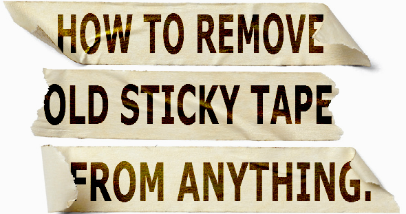 Remove Adhesive Residue From Anything With These Diy