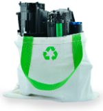 Recycle toner cartridges for a more environmentally friendly office.
