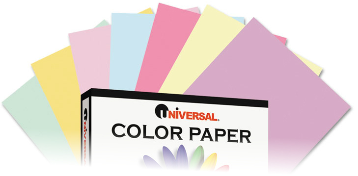 Universal® Colored Paper