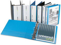 Universal One™ D-Ring Economy View Binder
