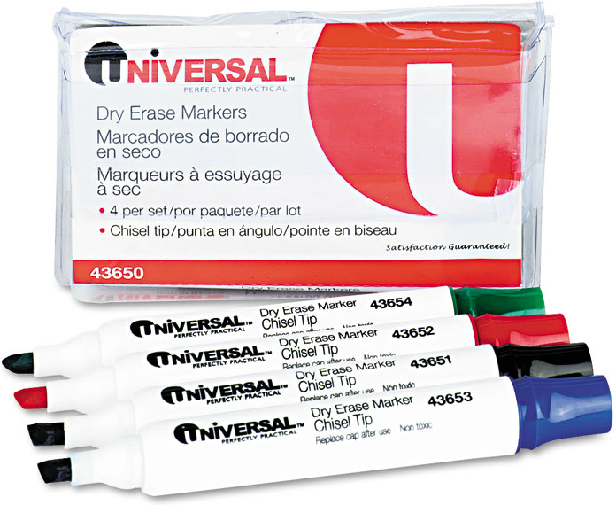 Universal® Dry Erase Markers