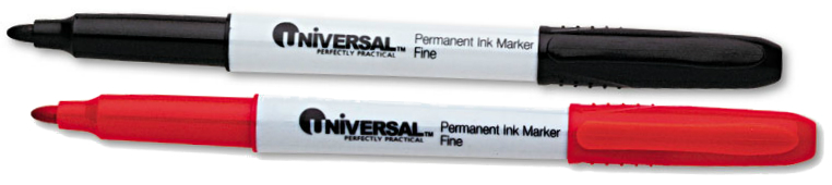 Universal® Pen-Style Permanent Marker