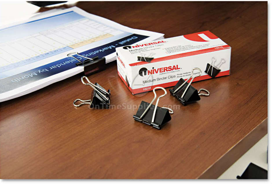 UNV10200 Small Binder Clips by Universal