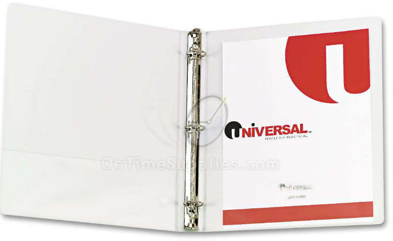 UNV20962 Universal® Round Ring View Binders