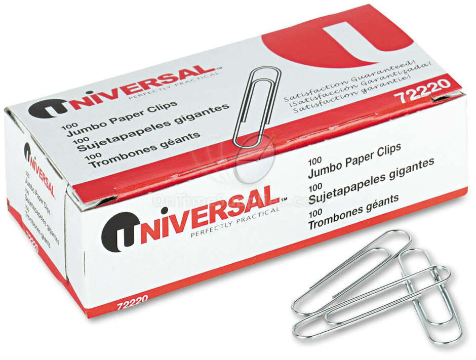 UNV72220 Paper Clips by Universal