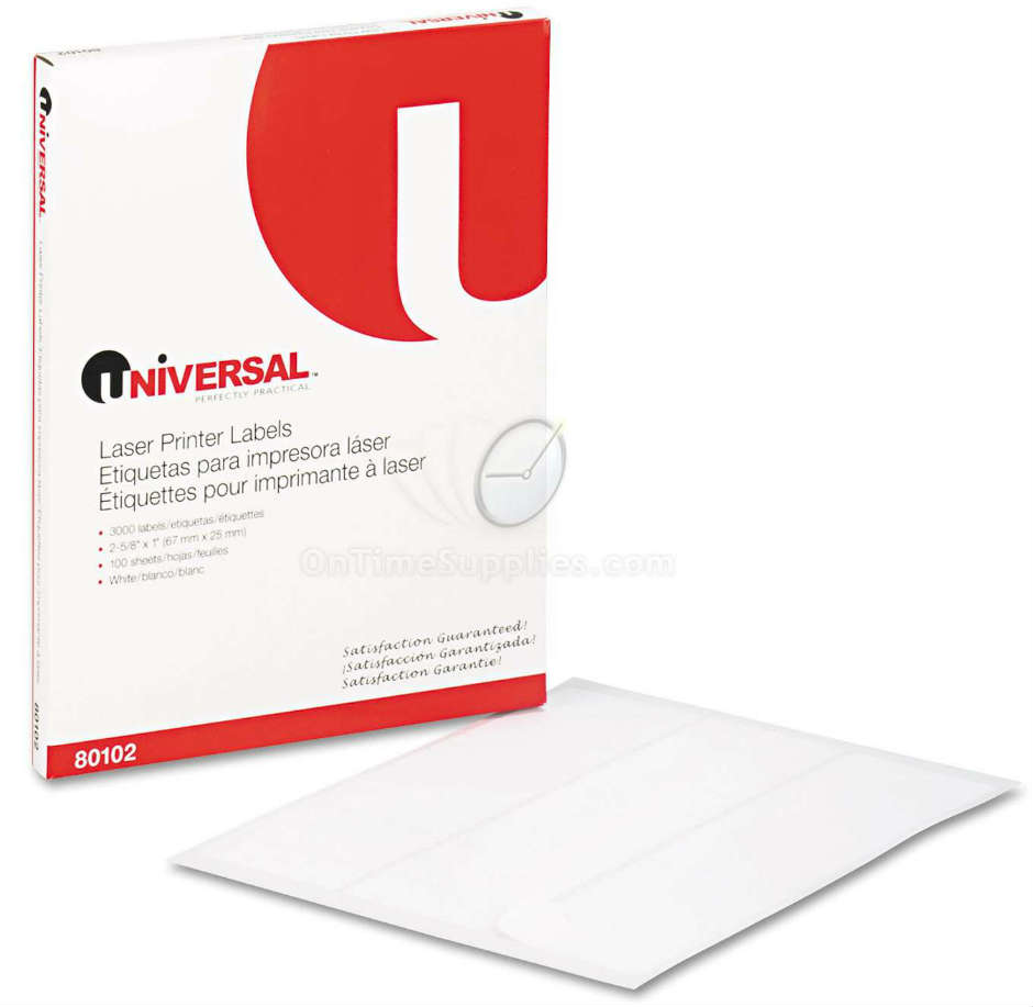 UNV80102 Multipurpose Laser Labels by Universal®