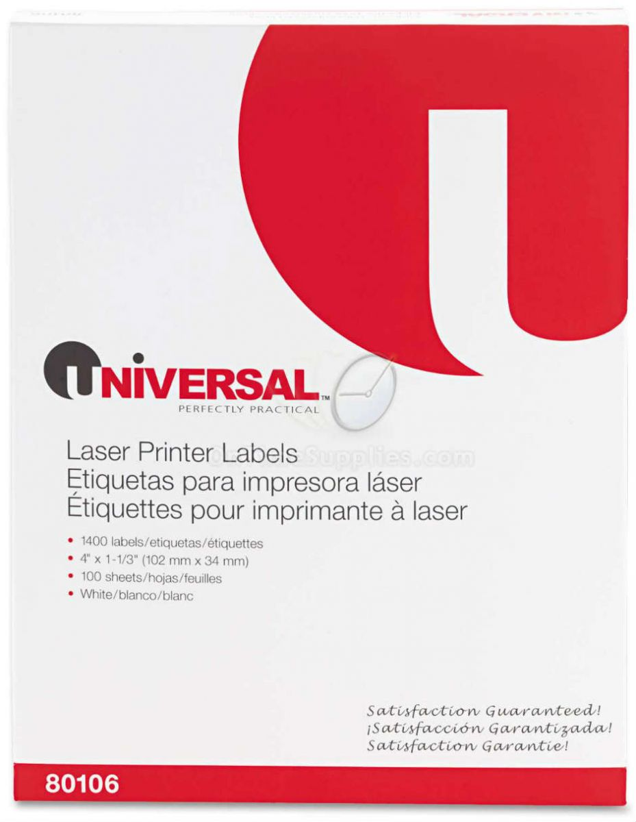 UNV80106 Multipurpose Address Labels by Universal