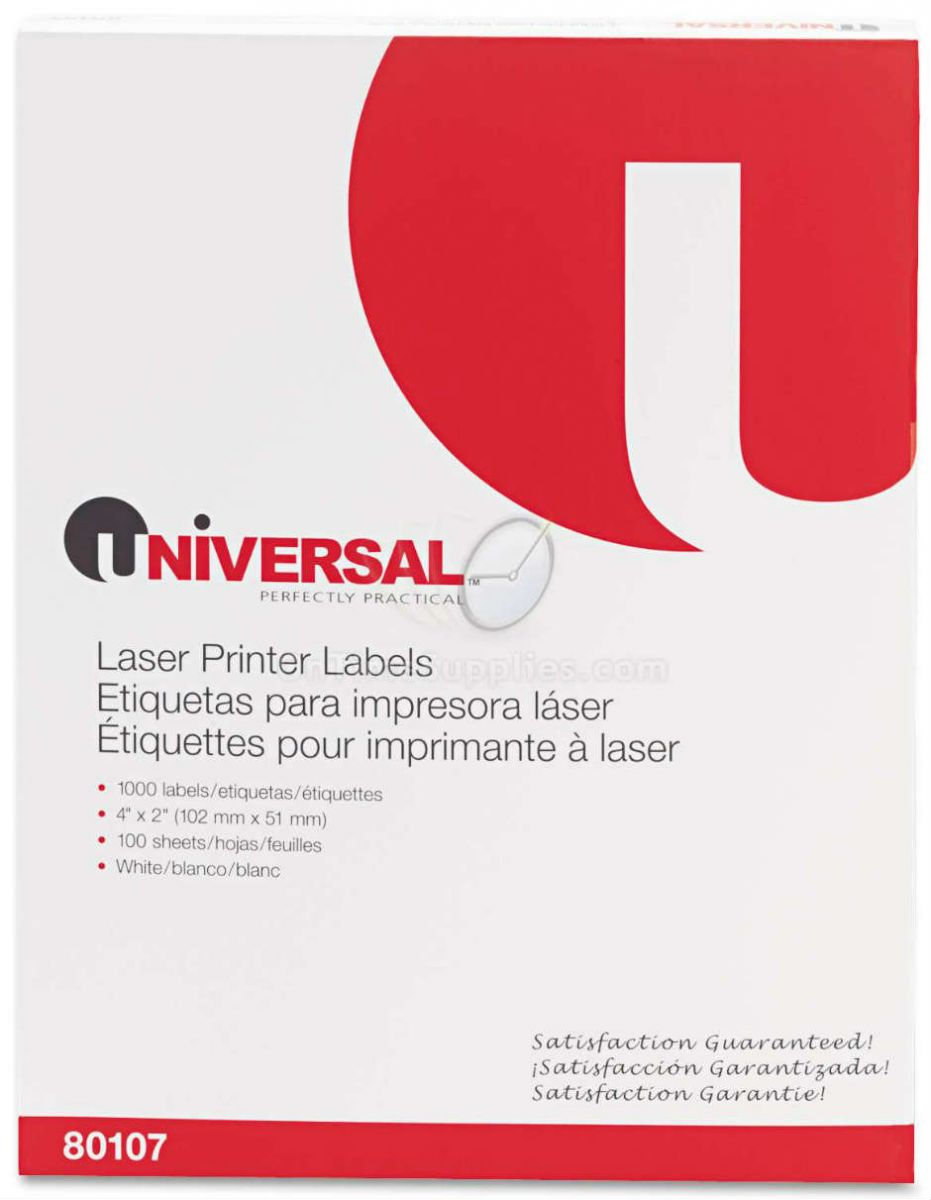 UNV80107 Multipurpose Laser Labels