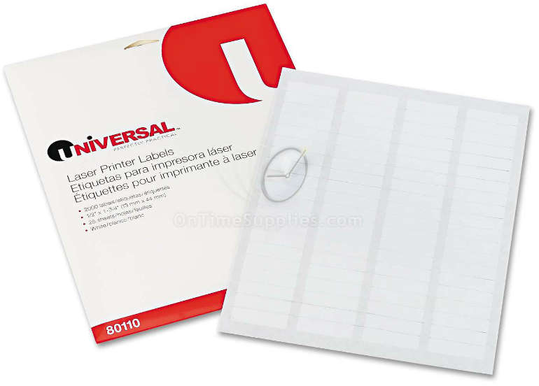 UNV80110  Multipurpose Blank Labels by Universal