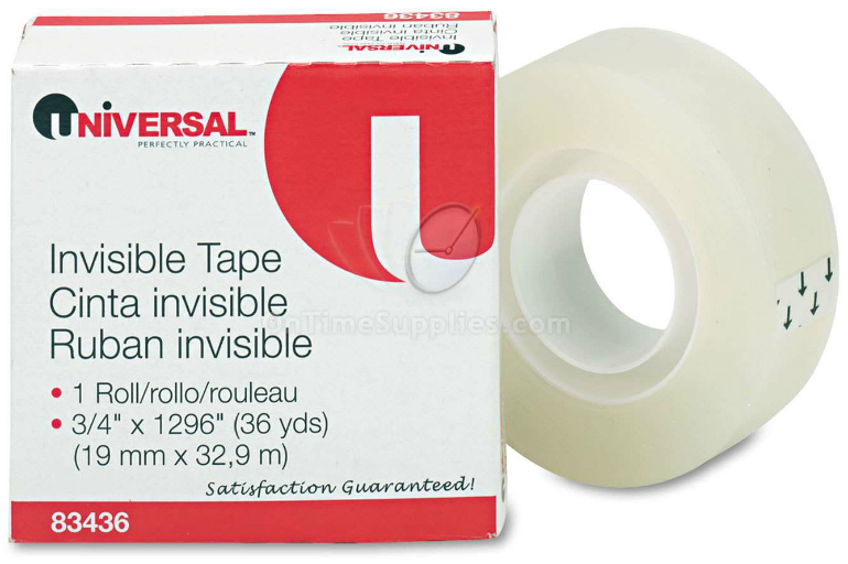 UNV83436 Universal® Invisible Tape