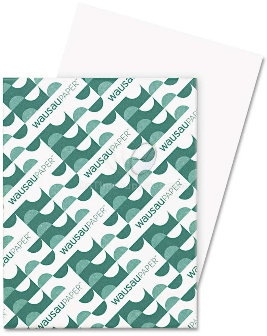 WAU40311 Exact Index Card Stock by Wausau Paper