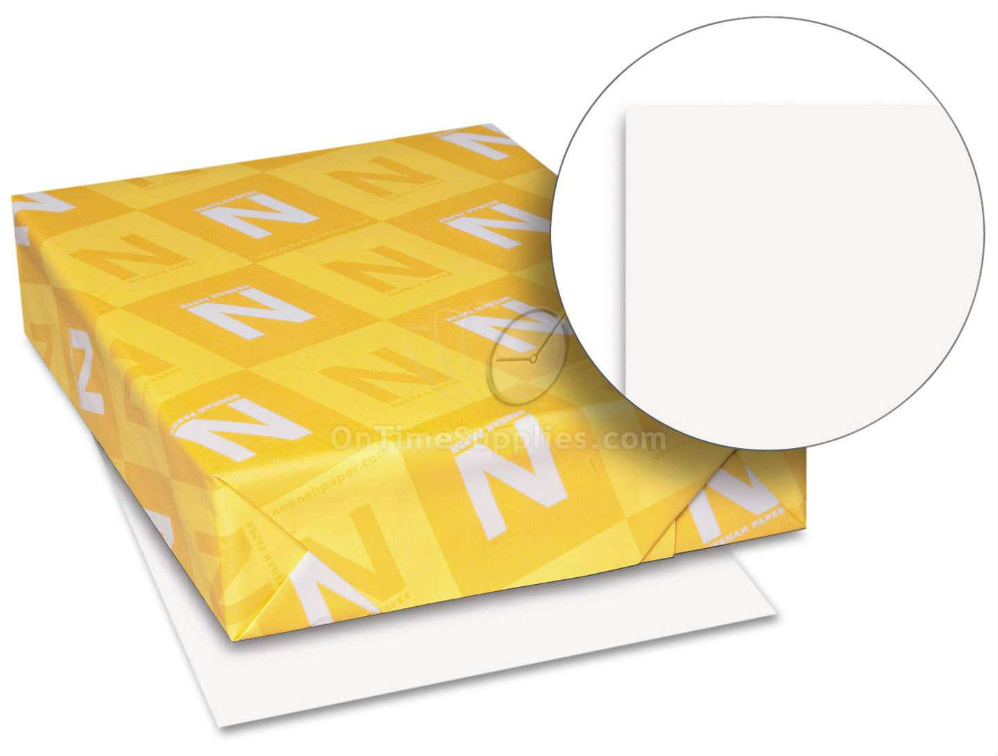 WAU40411 White Card Stock Paper by Neenah Paper