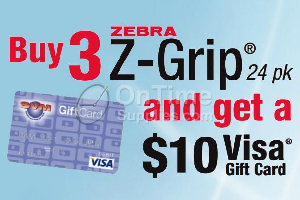 Zebra Z-Grip Mail in Rebate