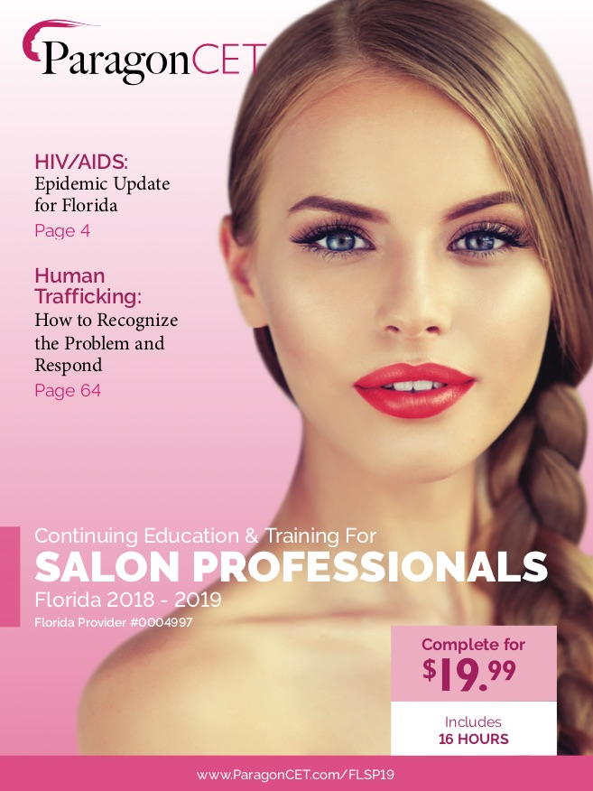 16-Hour CE Course for Florida Salon Professionals (Includes Violence and Trafficking Electives)