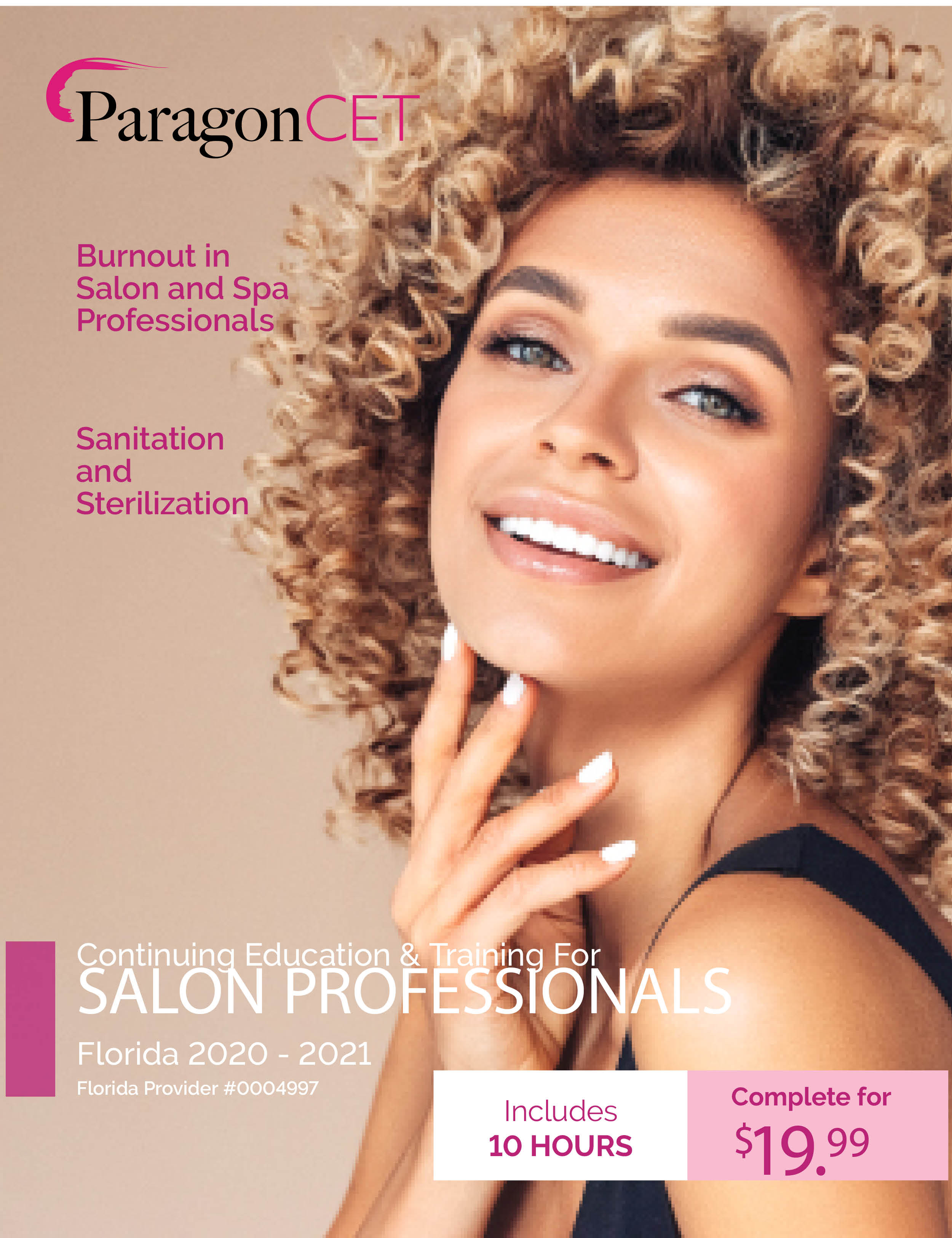 10-Hour CE Course for Florida Salon Professionals (Including Burnout Elective)