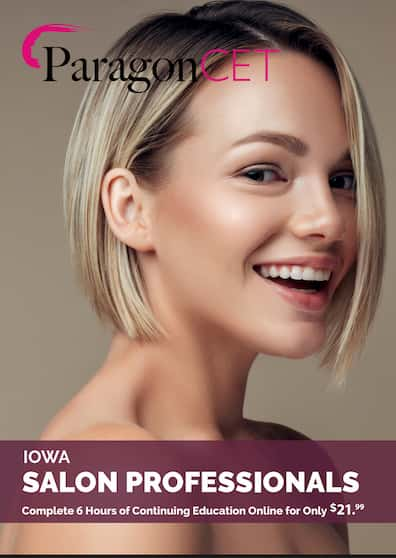 Iowa Salon Professionals 6 Hour Package 2021