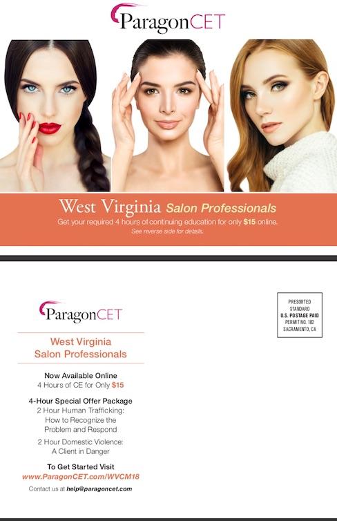 West Virginia Salon Professionals 2018 (4 Hours)