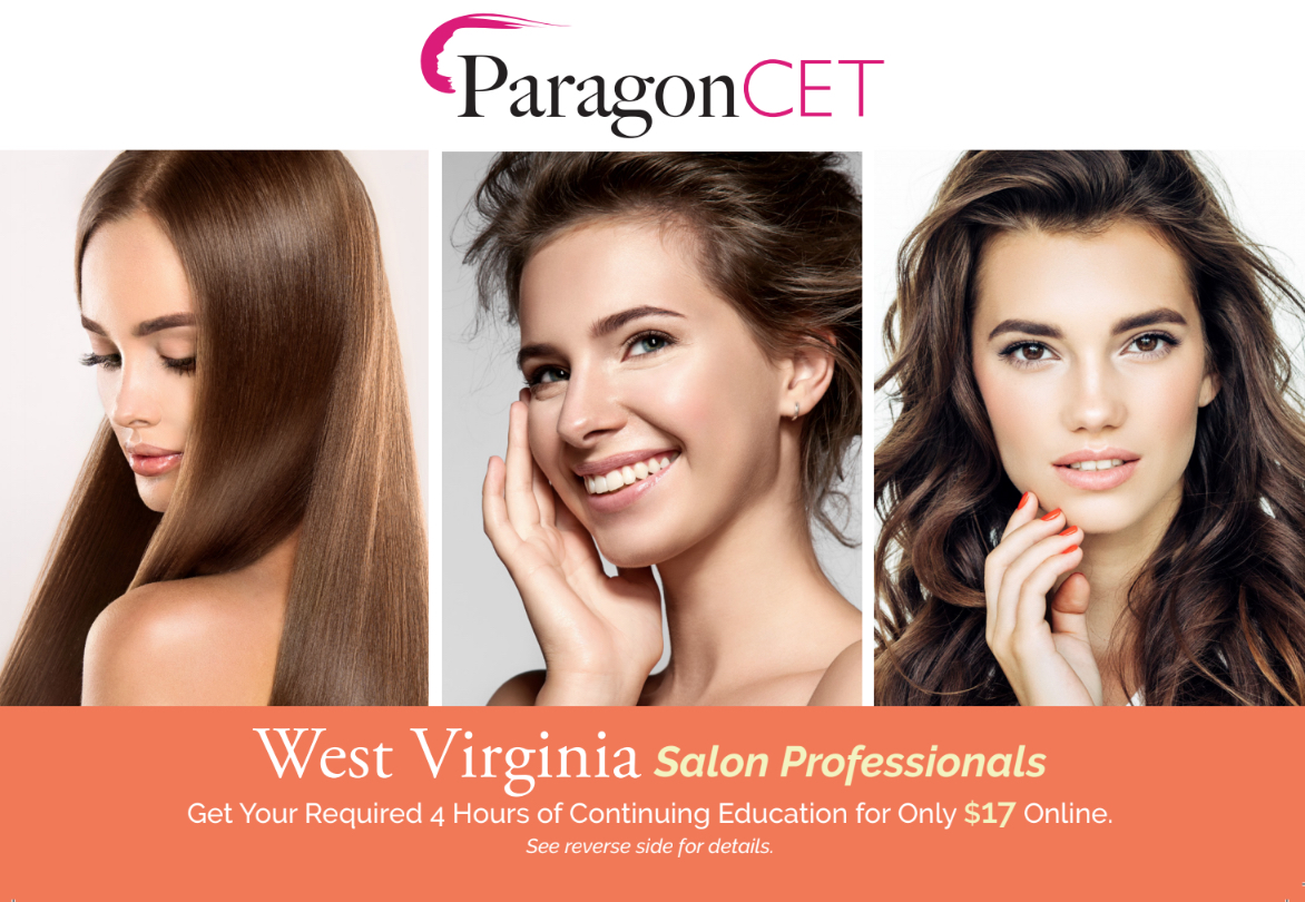 West Virginia Salon Professionals 2019 4 Hour Package