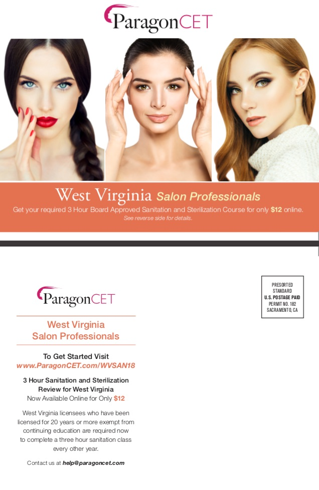 West Virginia Salon Professionals 2018 (3 Hours)