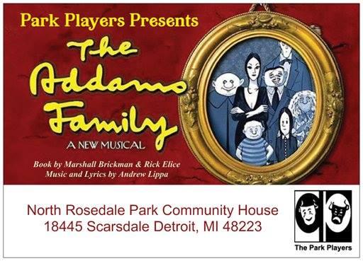 Addams Family flier