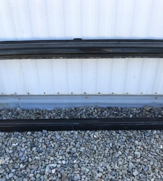 Front Windshield Frame Panel Mopar OEM Black 03-06 TJ LJ 55395014AB
