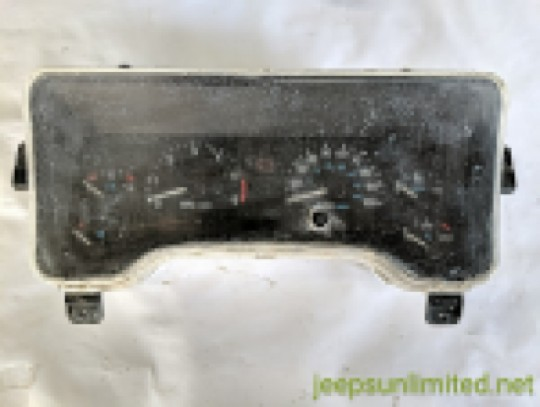 1997 Instrument Gauge Cluster Speedometer 97K TJ 56009170AB