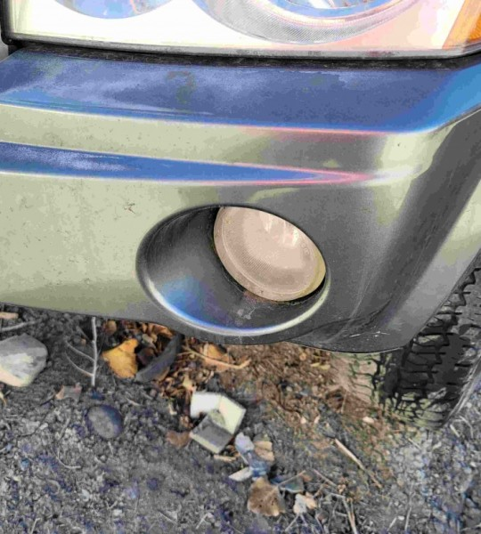 4805859AB Front Bumper Fog Light Lamp Assembly